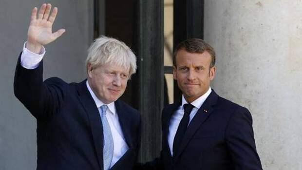 Борис Джонсон посоветовал Макрону «сделать перерыв»