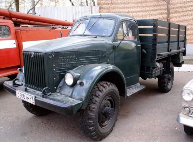 ГАЗ-63 автомобили, газ, фоторепортаж