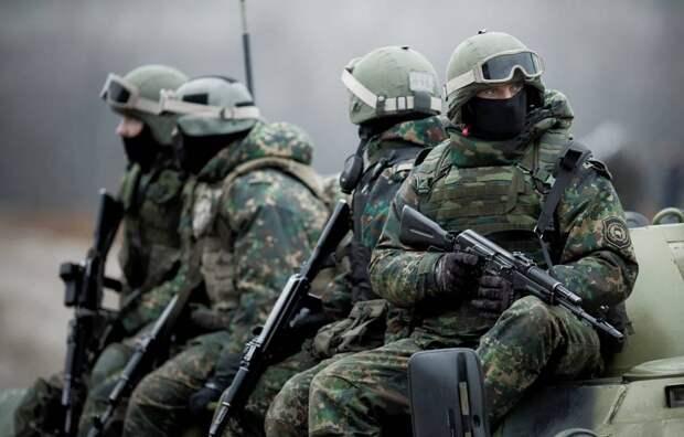 Высадка десанта ГРУ в Киеве вызвала истерику у столичного пропагандиста
