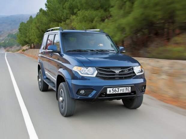 УАЗ повысил цены в январе минимум на 30 000 рублей