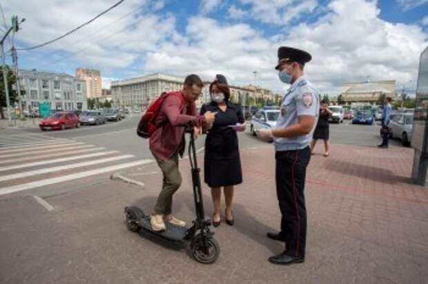 В России внесут изменения в ПДД для электросамокатов