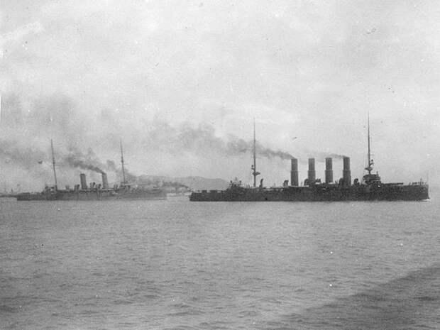 """Крейсер """"Варяг"""". Бой у Чемульпо 27 января 1904 года. Ч. 12. Первые выстрелы"""