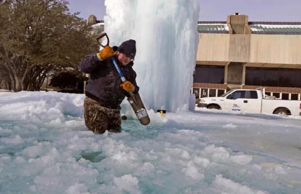 Одна холодная зима положила США на лопатки. А в России такие морозы случаются каждый год