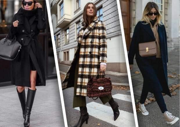 Обувь, которая идеально дополняет пальто