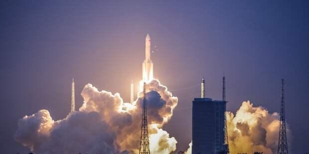 В Китае запущена крупнейшая ракета-носитель «Чанчжэн-5»