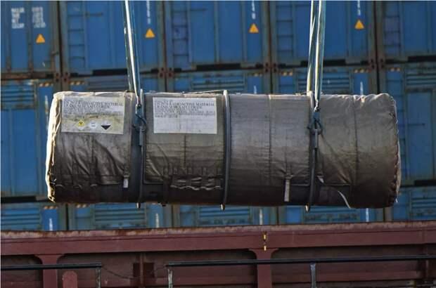 В Росатоме прокомментировали факт ввоза отработанного урана из Франции в Северск
