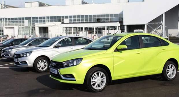 АВТОВАЗ рассказал, как создаются новые цвета автомобилей LADA в 2021 году