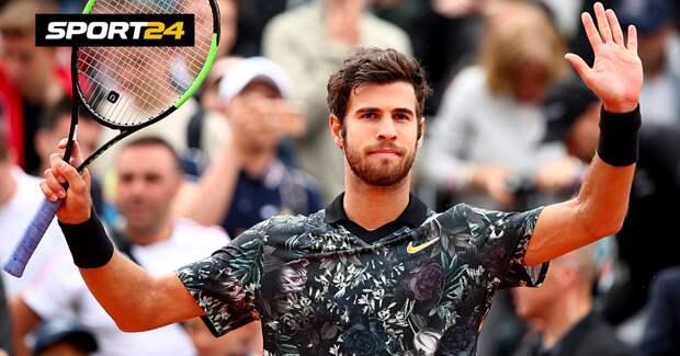 Хачанов вышел в четвертьфинал турнира в Антверпене