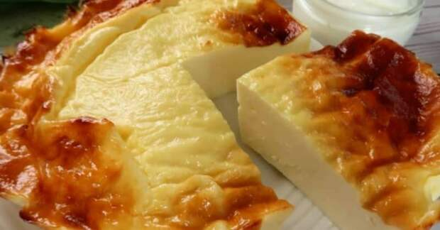 Пирог из йогурта без муки и сахара. Йогуртовый десерт особенно подойдёт в жаркое время года 4