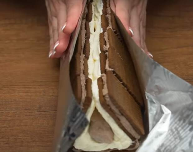 """Вкусный тортик """"Дом бабки Ежки"""""""