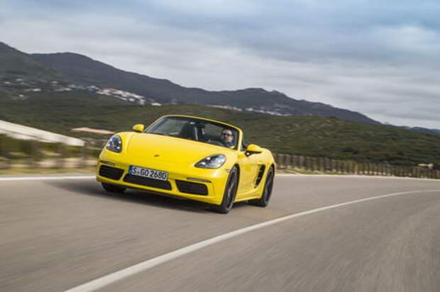Оператив ЗР: обкатываем Porsche Boxster нового поколения