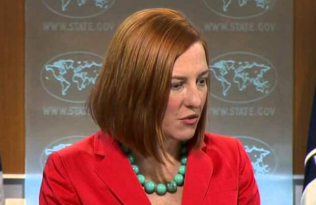 Псаки похвалила европейских партнеров США за санкции против России