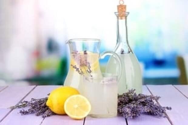 Лимонад из лаванды