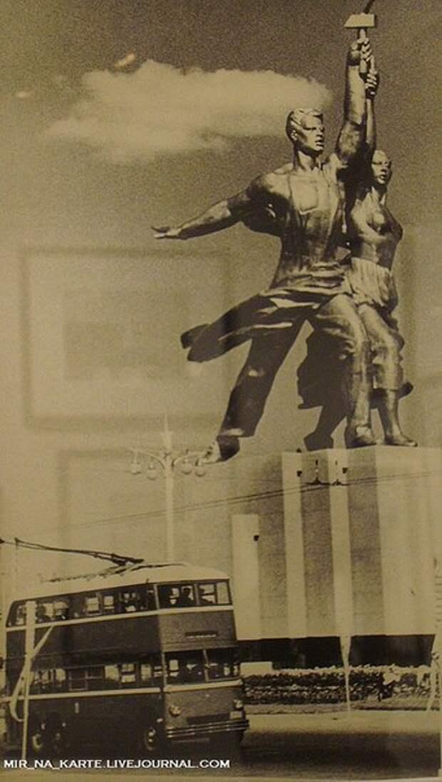 Москва: 1900- 1960 годы