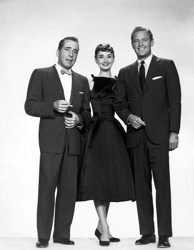 """Одри Хепбёрн. За кадром фильма """"Сабрина"""" (1954)"""