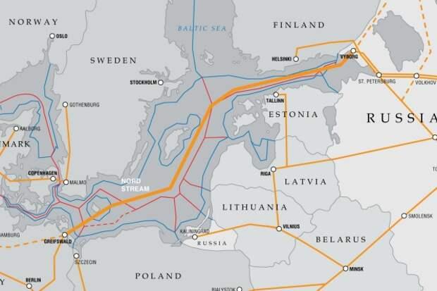 «Северный поток-2» начнут строить ибез разрешения Дании