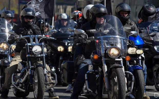 Из-за мотоциклистов в Москве будут пробки три дня. Даже ночью