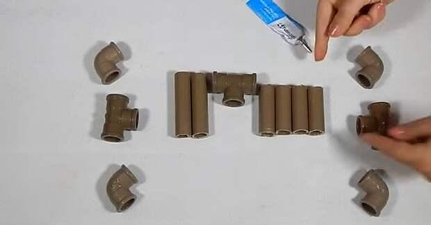 Опытная домохозяйка нашла очень полезное применение обрезкам ПВХ труб