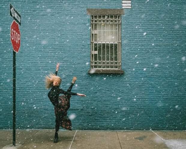 Танец в большом городе. Фотограф Омар З. Роблес