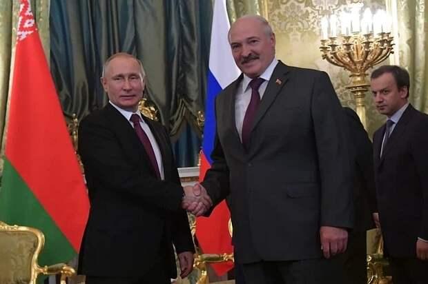 Переговоры Лукашенко и Путина в Москве пройдут 22 апреля 2021 года