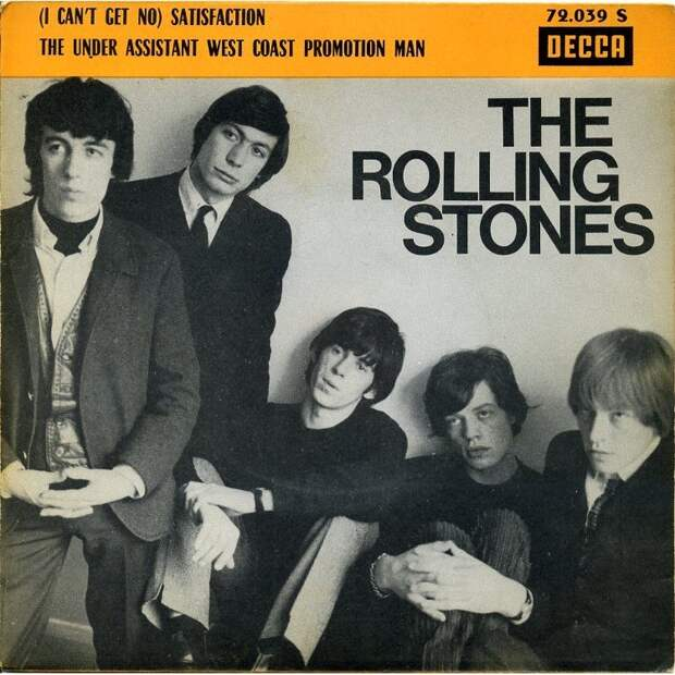 7. Rolling Stones — (I Can't Get No) Satisfaction кома, музыка, факты