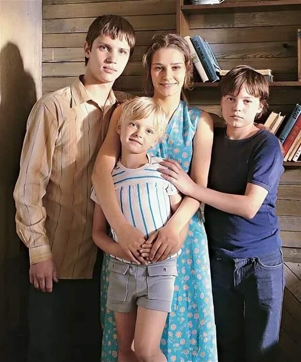 глафира тарханова с сыновьями