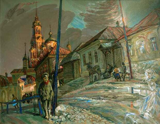 Художник Евгений Долгачев. Земное и небесное