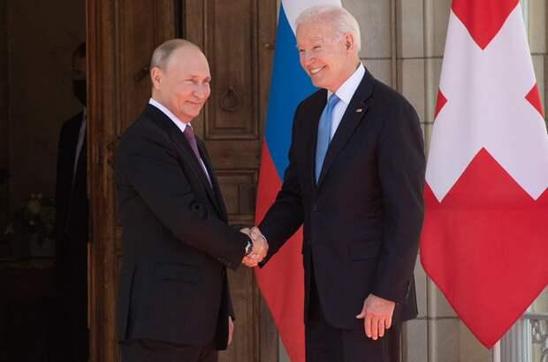 Переговоры Байдена и Путина в Женеве