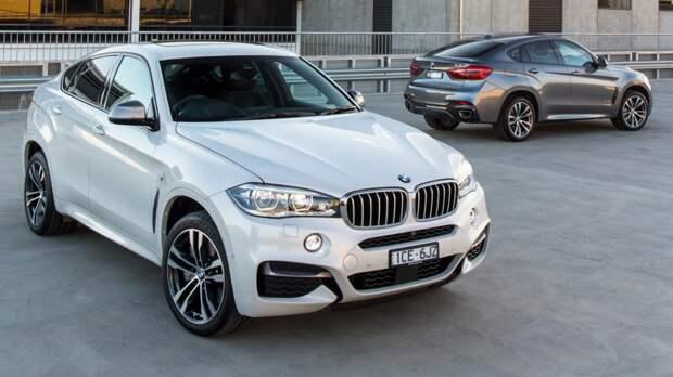 BMW X6 (F16) '2014–н.в.