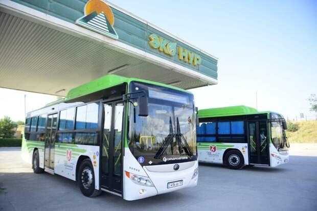Автобусный парк Шымкента обновят на 80 процентов
