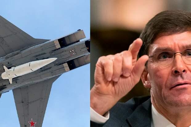 """Шеф Пентагона обвинил Россию в """"жульничестве"""" при разработке гиперзвукового оружия"""