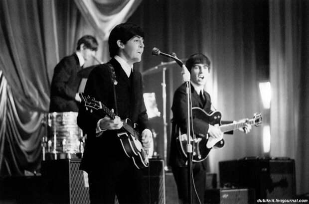 The Beatles - ранние годы. Фотографии группы в начале карьеры