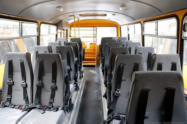 Каждому пассажиру автобуса - по подушке безопасности