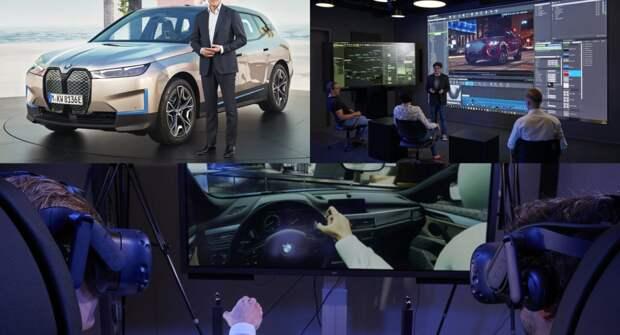 BMW использует игровые технологии для создания виртуальных фабрик