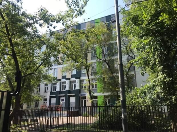 Корпуса школы «Свиблово» благоустроят к новому учебному году