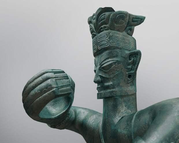 Статуя, фрагмент