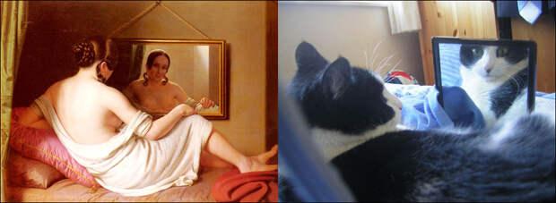 Коты иискусство