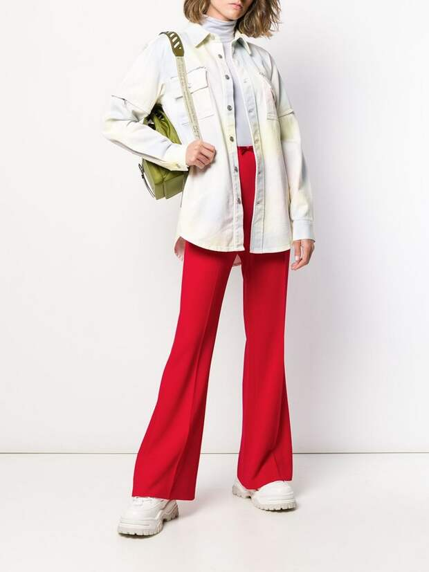 Модные широкие брюки весной 2021: какие и с чем носить, чтобы выглядеть стильно и не мерзнуть