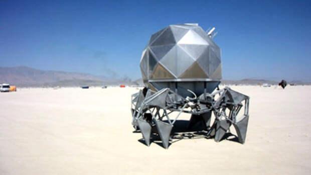 Создан «ползающий» геодезический робот на солнечных батареях