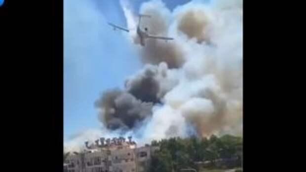 Прилетевшие на помощь пылающей Турции самолеты РФ дали туркам «пищу для размышлений»