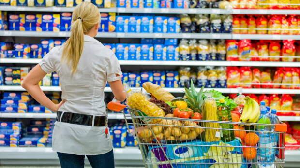 Снижение темпов продовольственной инфляции в России ожидают в Минсельхозе