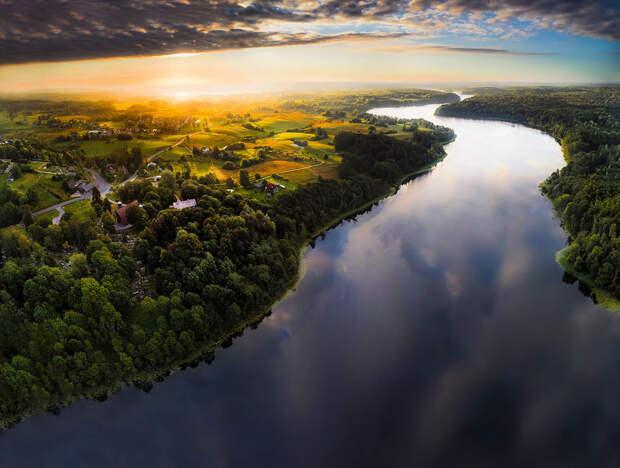 Маленькая Литва, оказывается, невероятно красивая