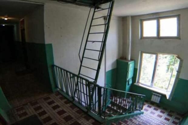 Почему в большинстве советских домов по 9 ступенек между пролетами