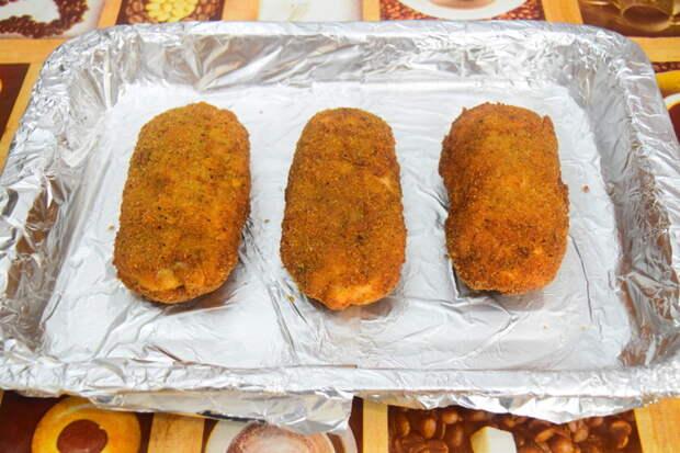 После масла 20 минут в духовке при температуре 180-200  видео, еда, котлета по киевски, своими руками, сыктывкар, юмор