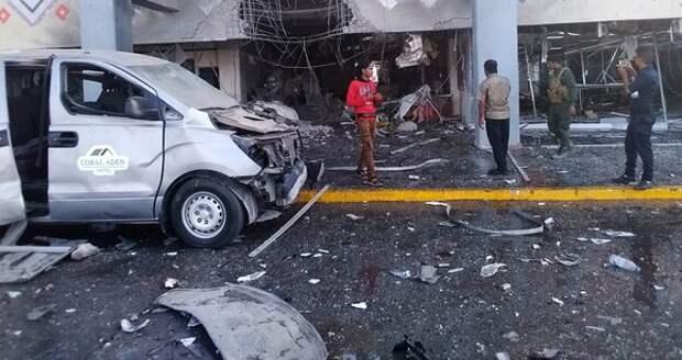Взрыв прогремел недалеко от правительственного дворца в Адене