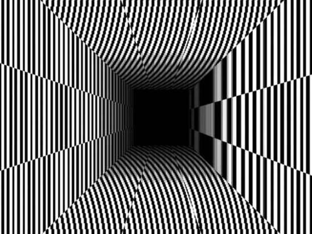 Тест - оптическая иллюзия , который раскроет тайны вашей личности
