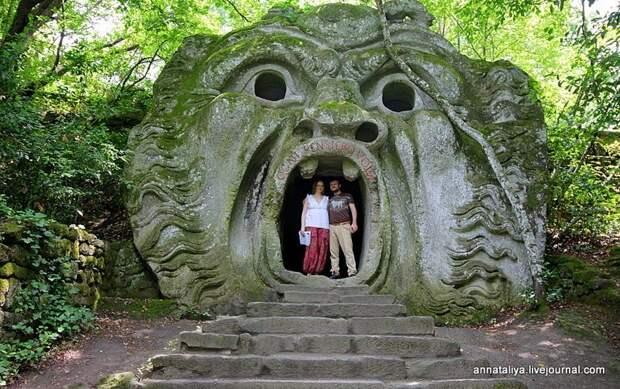 Италия. Сад чудовищ в Бомарцо
