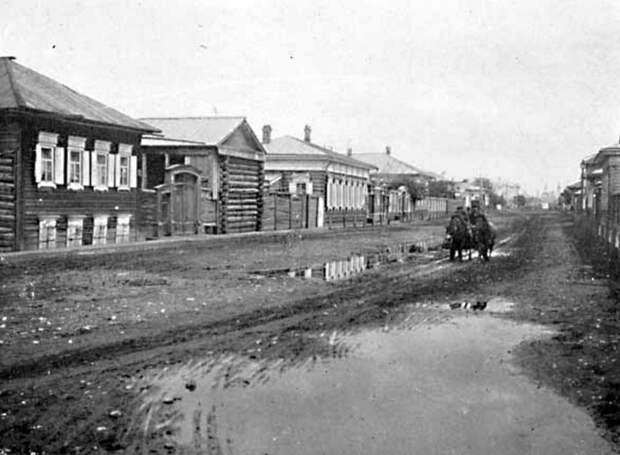 56. Иркутск. Типичная улица