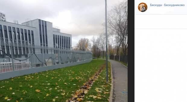 В Бескудникове Мосгосстройнадзор проверяет строительство полицейского участка