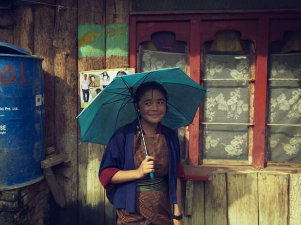 Девочка из Бутана